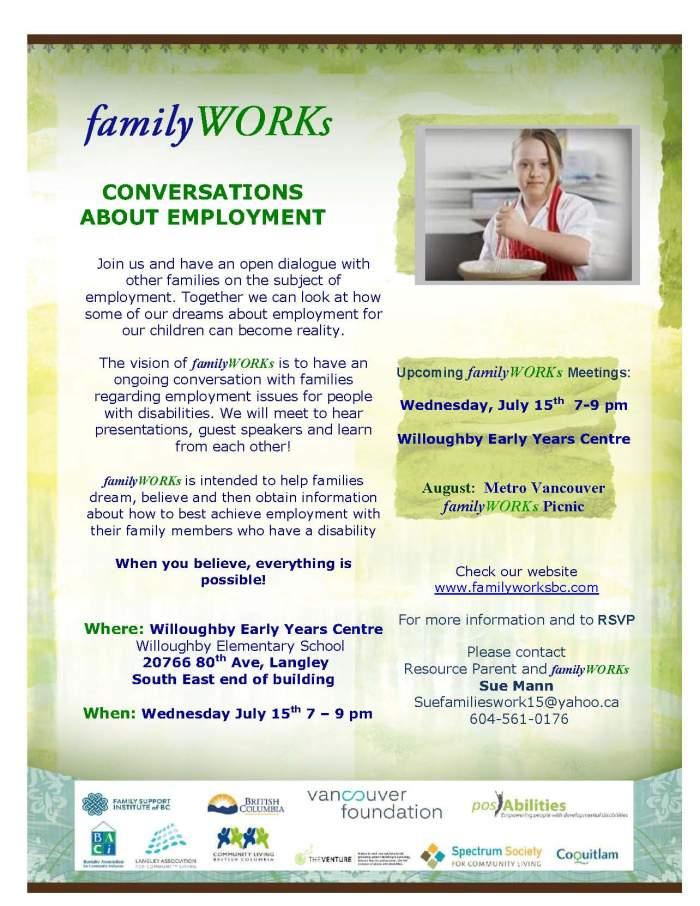familyWORKs Langley 071515