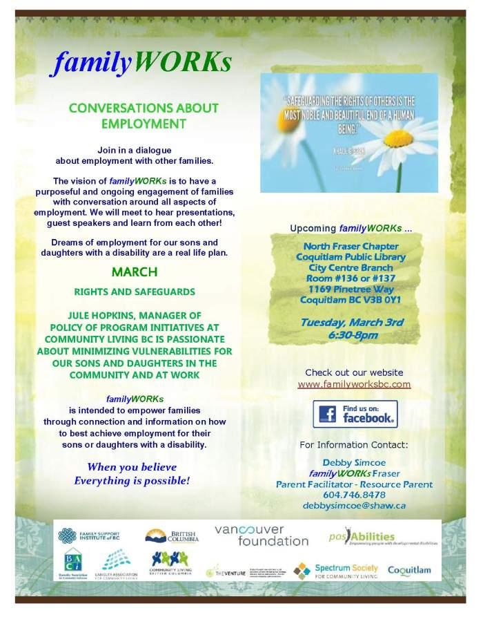 familyWORKS North Fraser 03 03 2015