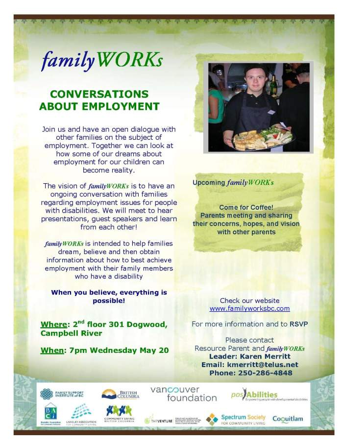 familyWORKs Poster May 20 2015