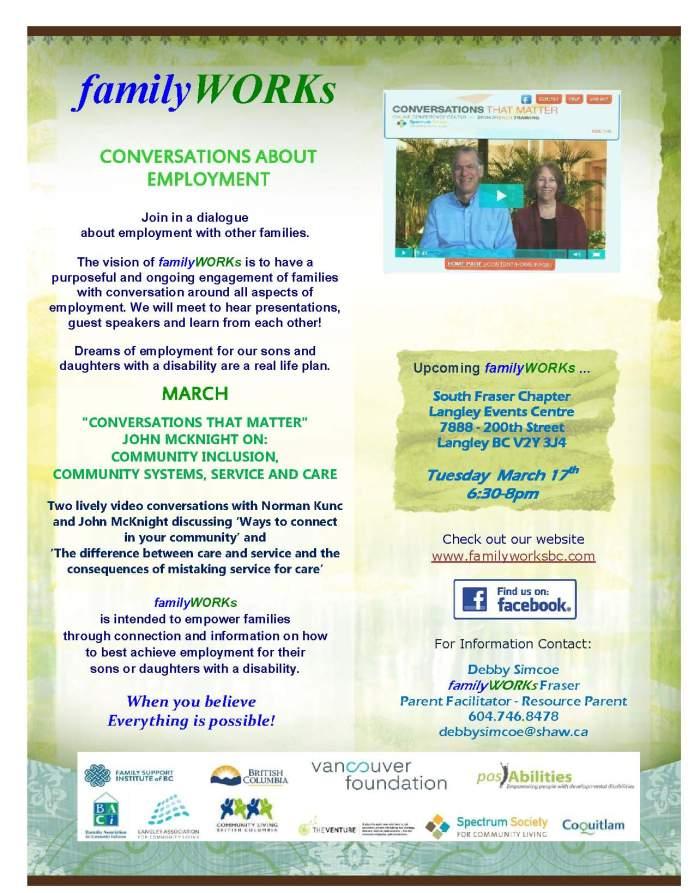 familyWORKs South Fraser03 17 2015