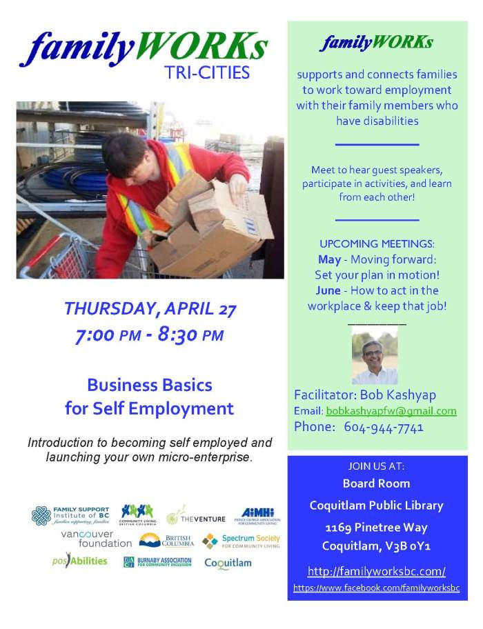 familyWORKS.Tricities - 27 April, 2017