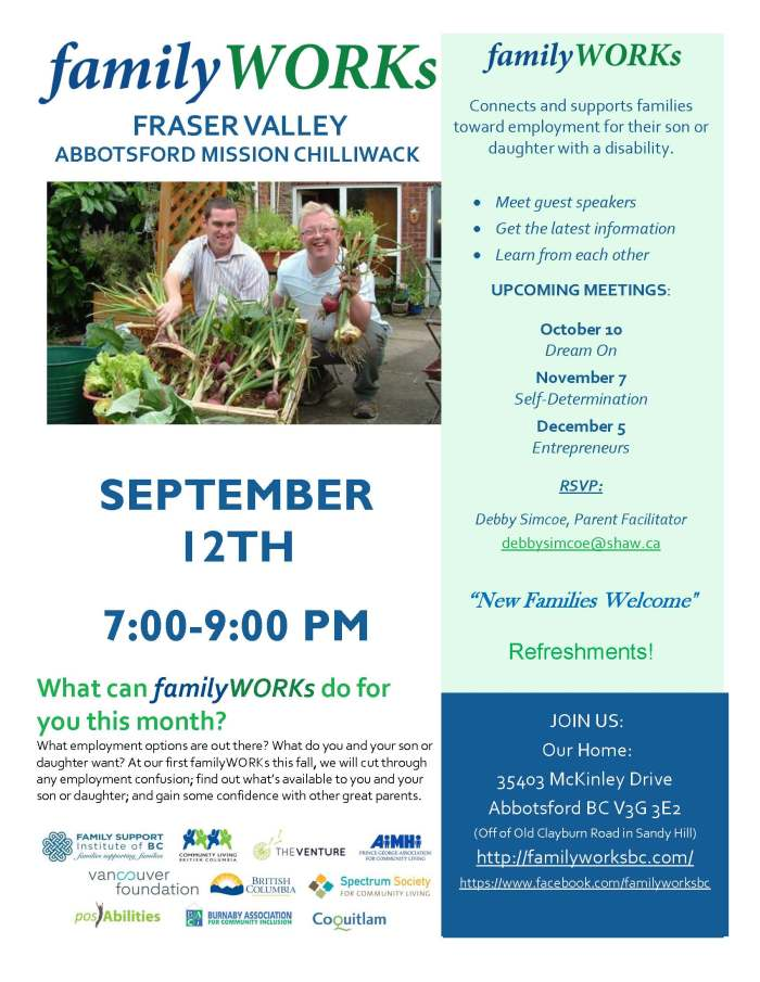 09.12.2017 familyWORKS FRASER VALLEY