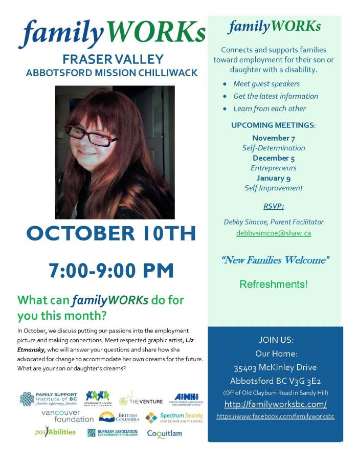 10.10.2017 familyWORKS FRASER VALLEY