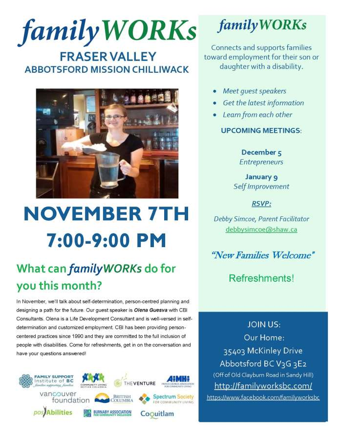11.07.2017 familyWORKS FRASER VALLEY