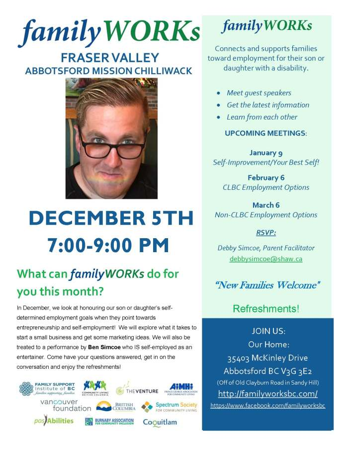 12.05.2017 familyWORKS FRASER VALLEY
