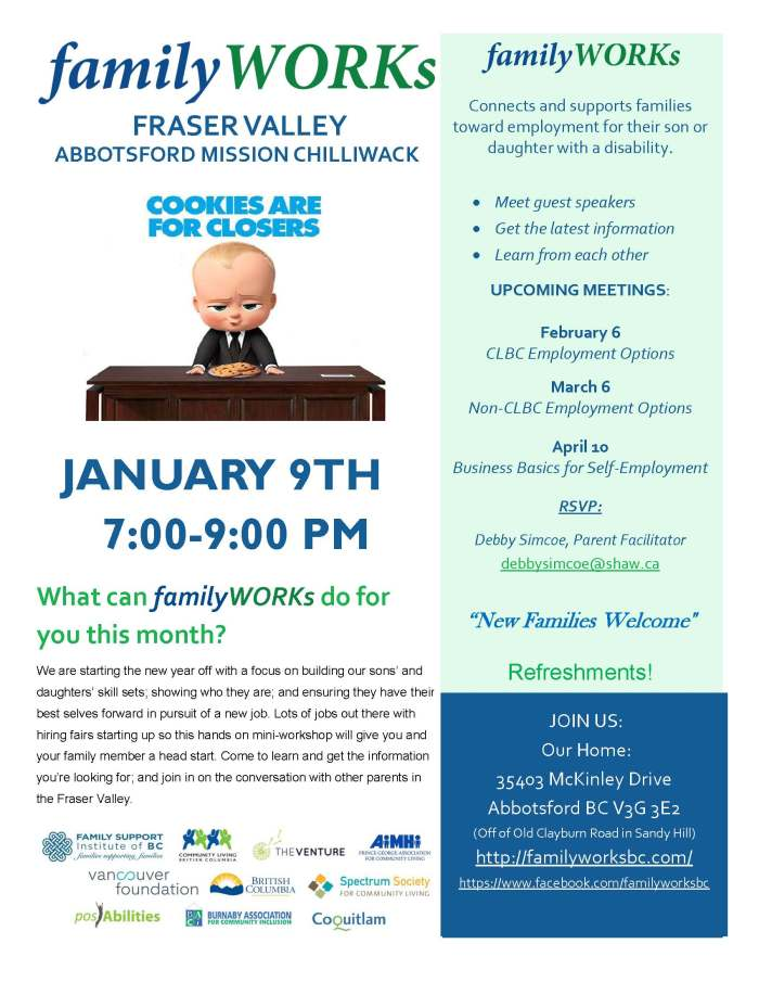 01.09.2018 familyWORKS FRASER VALLEY