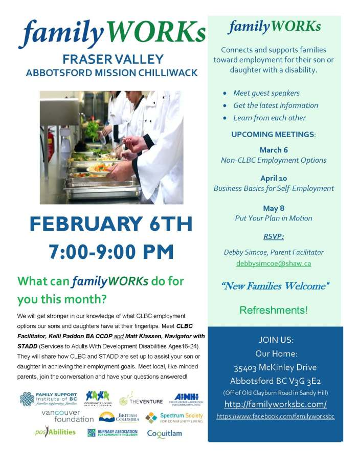 02.06.2018 familyWORKS FRASER VALLEY
