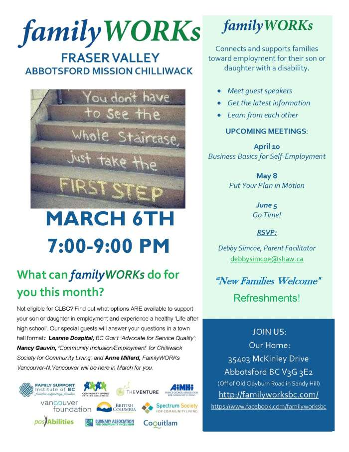 03.06.2018 familyWORKS FRASER VALLEY