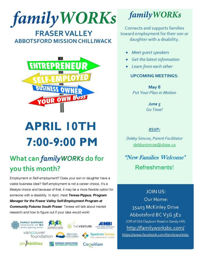 04.10.2018 familyWORKS FRASER VALLEY