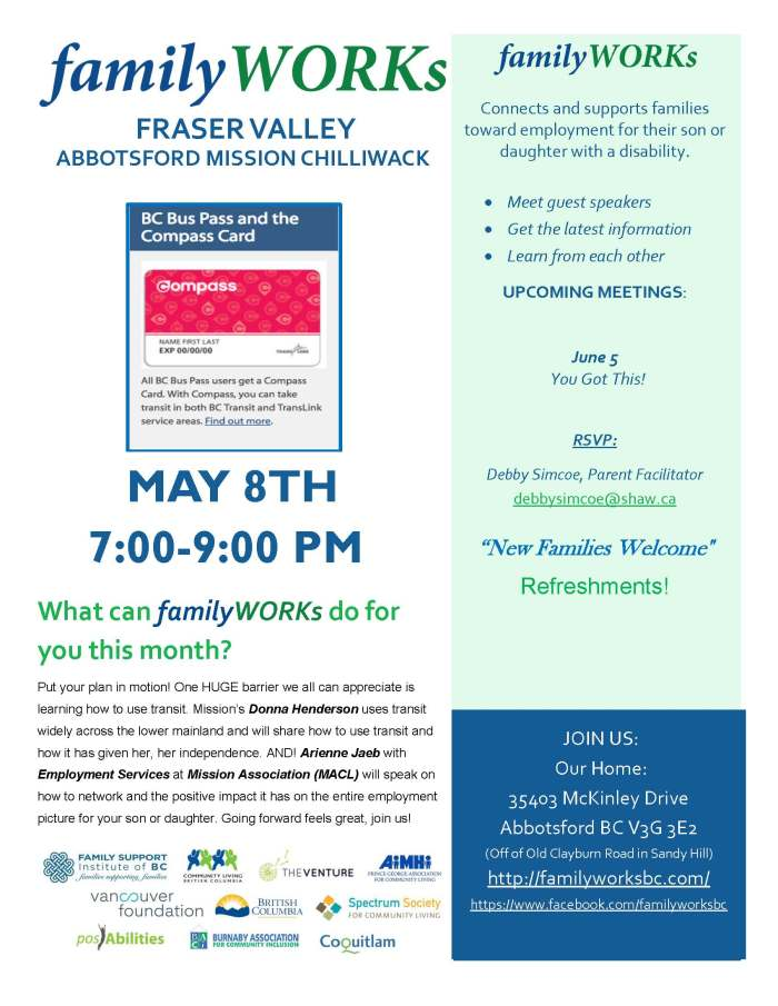05.08.2018 familyWORKs FRASER VALLEY