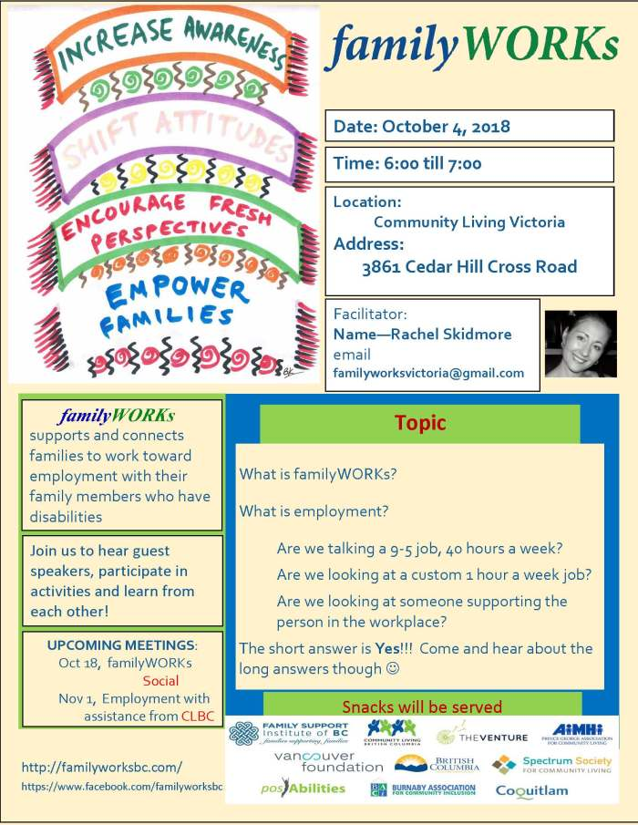 familyWORKsFlyer October 2018
